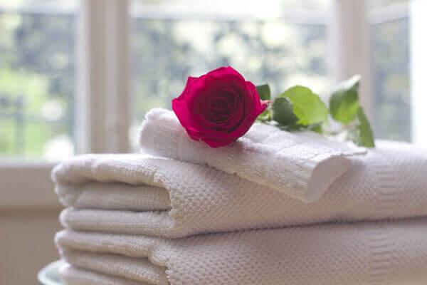Tipos y tamaños de toallas de baño