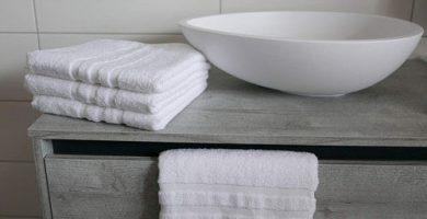 toallas de lavabo