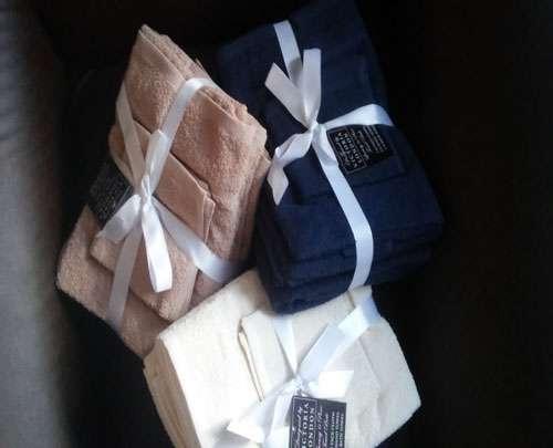 Toallas baño alta calidad algodon pima