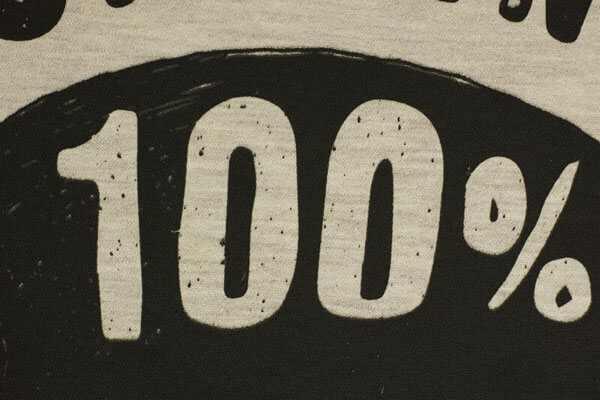 como saber si una prenda es 100 algodon