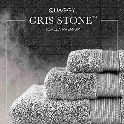 Toalla quaggy gris