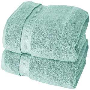 toallas de ducha algodon pima verde mineral de alta calidad