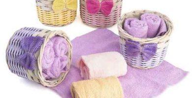 toallas tocador